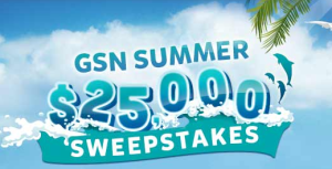 GSN $25,000 Summer Sweepstakes