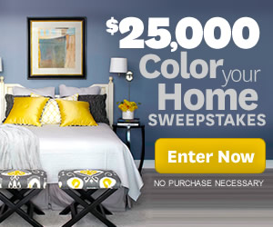 Get Beautiful With The Color Your Home Sweepstakes