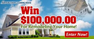 PCH Home Remodel Sweepstakes Sweepstakes Advantage - Home remodel sweepstakes