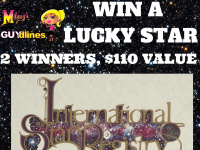 Melany Guydlines Lucky Star Giveaway