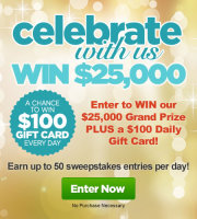 Recipe.com Slide and Win Sweepstakes