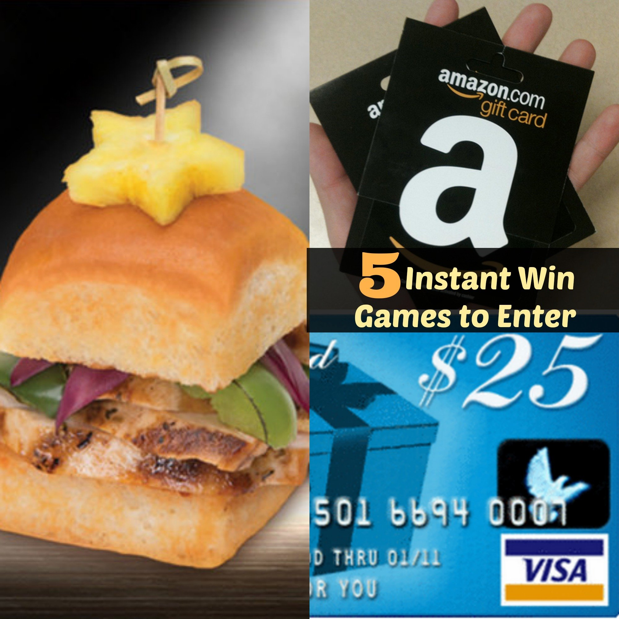 5 instant win games to enter now sweepstakes advantage for Enter now to win