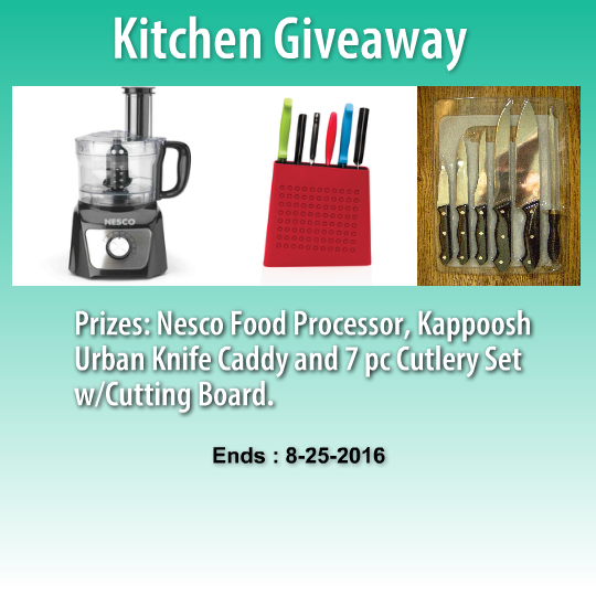 Kitchen Sweepstakes: Exclusive Kitchen Tools Giveaway
