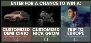 car sweepstakes 2017