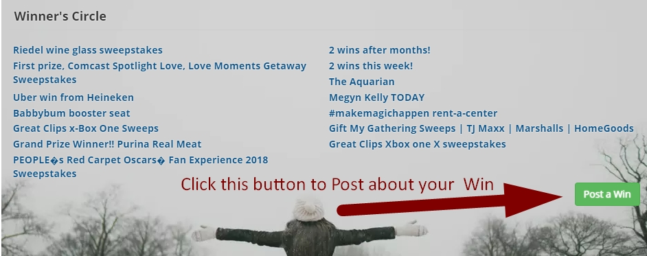 Online sweepstakes com