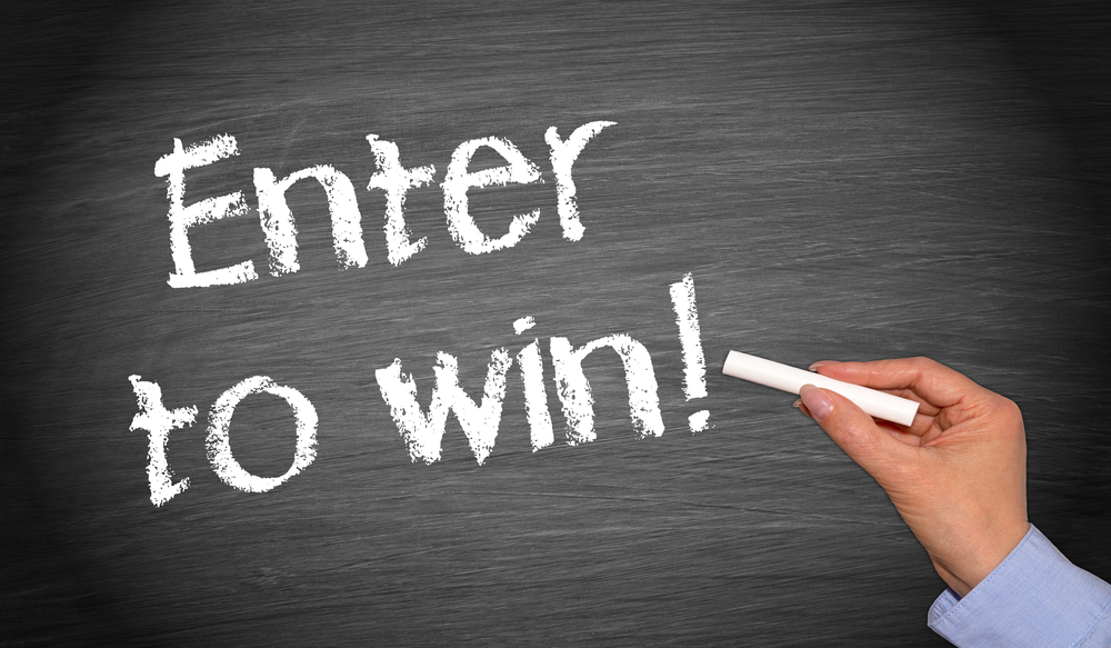 Find contests and sweepstakes