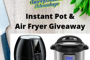 picture of instant pot and air fryer