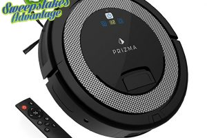 picture of prizma robotic vacuum
